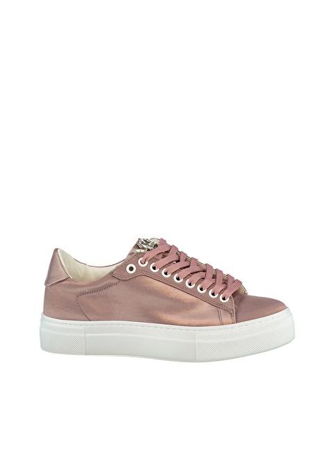 Elle Deri Sneakers Ayakkabı Pudra